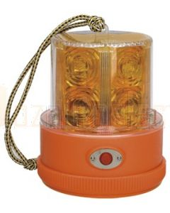 Narva 'Sentry' 85320A L.E.D Portable Battery Powered Strobe (Amber) with Magnetic Base