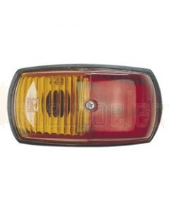 Narva 85760BL Side Marker Lamp (Red/Amber) - Blister Pack
