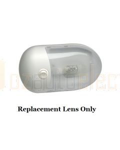 Lens to suit Interior Dome Light with Off/On Rocker Switch (86842, 86842S)