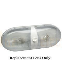 Narva 86865 Lens to suit Dual Interior Dome Light with Off/On Rocker Switch