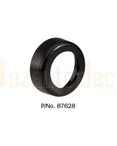 Black Face Plate and Mounting Spacer to suit L.E.D Courtesy Lamp with Off/On Switch 87620