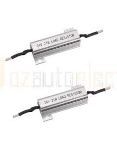 Narva 90034BL2 12 Volt 21 Watt L.E.D Load Resistor (Twin Blister Pack)