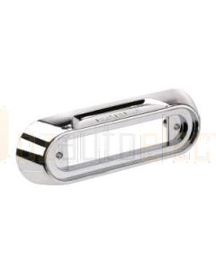 Narva 90891 Model 8 Lamps - Chrome Deflector Mounting Base