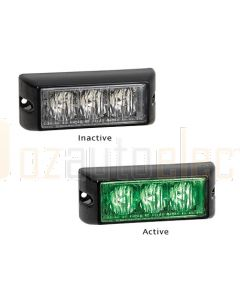 LED Autolamps 93GM 93 Series Green Emergency Lamp (Single Bulk Box)
