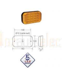 Narva 94144BL 9-33 Volt L.E.D Rear Direction Indicator Lamp (Amber)