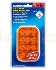 Narva 94528BL 9-33 Volt L.E.D Rear Direction Indicator Lamp Only (Amber) - Blister Pack