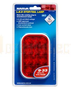 Narva 94532BL 99-33 Volt L.E.D Rear Stop/Tail Lamp Only (Blister Pack)