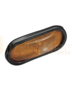 Narva 96032 12 Volt Sealed Front Direction Indicator Lamp Kit (Amber) with Vinyl Grommet