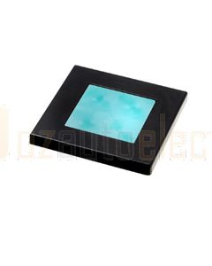 Hella Square LED Courtesy Lamp - Cyan, 12V DC