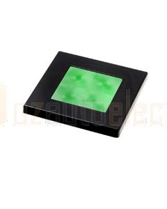 Hella Square LED Courtesy Lamp - Green, 24V DC