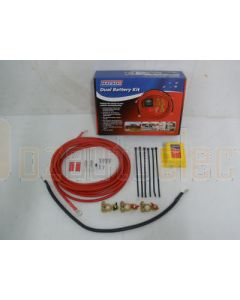 Matson MA98504 Dual Battery Kit with Emergency Over-Ride Switch