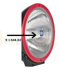 Hella 9.1368.02 Spread Beam Insert to Suit Hella 1368 XGD Driving Lamp