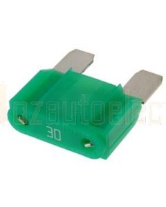 Hella MIning 9.HM4991 Maxi Blade Fuse - 30A, Green (Pack of 15)