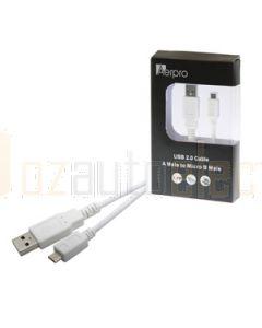 Aerpro ADM95 USB To Micro USB Cable 1.2m