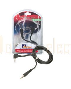 Aerpro AP135 1 Metre, 3.5mm to 3.5mm stereo lead