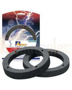 """Aerpro AP3151B 5""""- 6"""" 127-152Mm mdf spacers 16mm black"""
