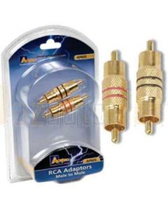 Aerpro AP605 M/m - RCA Adaptor Packet 2