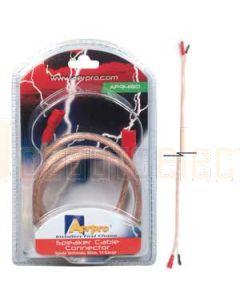 Aerpro AP94180 14G Spk Cable Connector 80cm