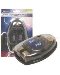 Aerpro APD4025 200A digital distribution block 1 x 0ga - 2 x 4ga