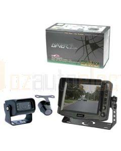 "Aerpro ARV50T 12/24 Vdc 5"" Rev.Camera With Trailer Kit+2 Cameras"