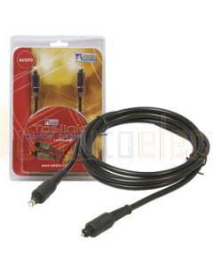 Aerpro AVOP2 2 Metre Toslink Optical Cable