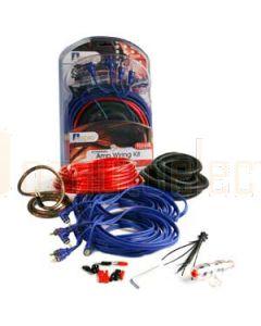 Aerpro BSX408 Bassix 8ga 4 Channel Amp Install Kit