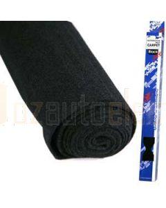 Aerpro CABK1 .75 X 2M Blk Felt Carpet