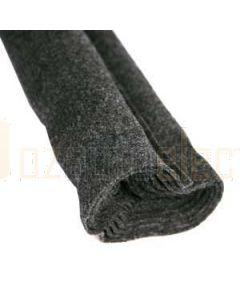 Aerpro CACH25 25M Roll Charcoal Felt Carpet