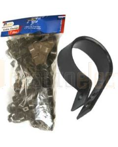 """Aerpro CC25 1"""" 25mm Cable Clamp Pack 100"""