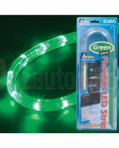 Aerpro EL60G 60 Cm Flexi Led Rope Light Grn