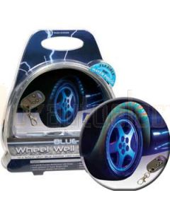 Aerpro ELW600B Wheel Arch Remote Led Kit Blue