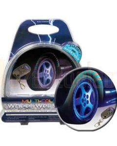 Aerpro ELW600M Wheel Arch Remote Led Kit Multicolour
