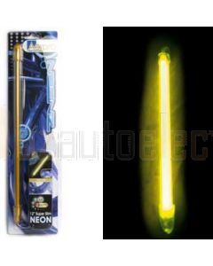 """Aerpro SLN12YL Neon 12"""" Slim Line Yellow"""