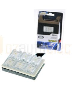 Aerpro SMD6W 6x Super Led Lamp White