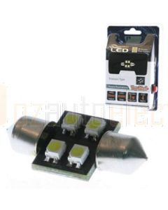 Aerpro SMD91G 4X SMD Led 28mm Festoon Green