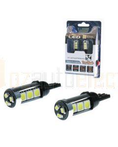 Aerpro T1012TB 12 X SMD LED Wedge Type Blue