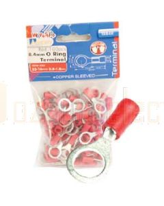 Aerpro TR84R 8.4Mm O Ring Terminal Red
