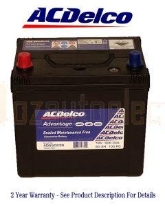 Ac Delco Advantage AD55D23R Automotive Battery 500CCA