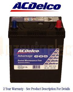 Ac Delco 42B19L Advantage Automotive Battery 360 CCA