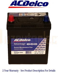 AC Delco Advantage S42B19RS Automotive Battery 360CCA