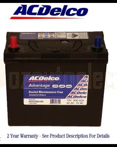 AC Delco Advantage AD52B24R Automotive Battery 400CCA