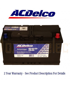 AC Delco Advantage AD60138 Automotive Battery 810CCA