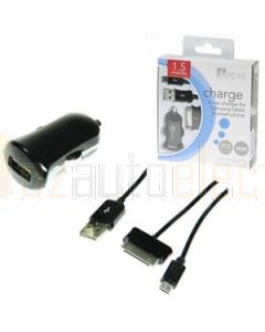 Aerpro ADM76 12V USB charger with samsung tablet connector