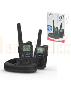 Crystal DBH10R Handheld UHF CB Radio 1.0W Rechargeable Twin Pack