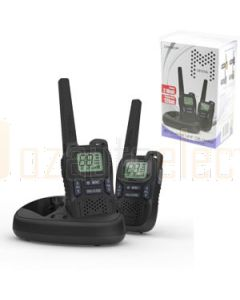 Crystal DBH20R 2W Handheld UHF CB Twin Rechargeable Pack