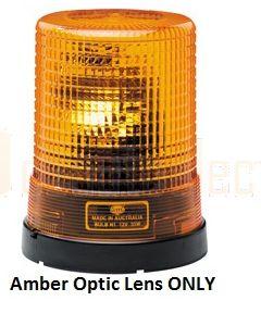 Amber Optic Lens