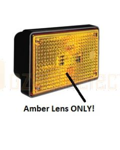 Lens (amber) to suit Hella 2143