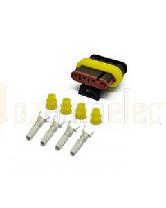 AMP Superseal 4 Circuit Plug Kit