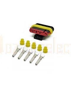 AMP Superseal 5 Circuit Plug Kit