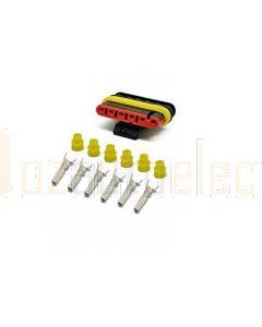 AMP Superseal 6 Circuit Plug Kit